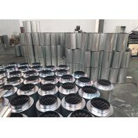 Wholesale Galvanized Air Duct Noise Silencer  ,  Silver Noise Reducing 6 inch fan silencer from china suppliers