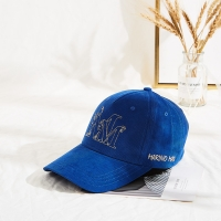 Wholesale Customized Corduroy Winter Flat Embroidery Logo Baseball Cap from china suppliers