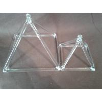 """China Quartz Crystral Pyramid Singing Large 14"""" Perfect Healing Musical Instrument New for sale"""
