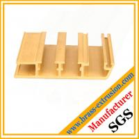 Wholesale window door frame brass extrusion profile sections from china suppliers