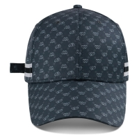 Wholesale Custom Logo Structured Baseball Cap Sports Hat Strap With Metal Buckle Sublimation Printing from china suppliers