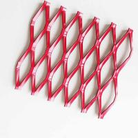 Wholesale A6063 Anode Anodizing Expanded Aluminum Mesh For Curtain Wall from china suppliers