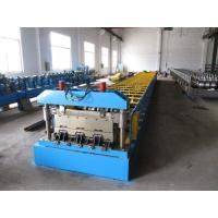 Best 0.8-1.5mm Thickness Steel Floor Decking Forming Machine With High Strengthen Power wholesale