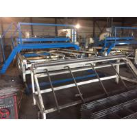 Wholesale Customized 3.2 Meter Width Welded Mesh Machine 30 - 50 Times Per Minute from china suppliers