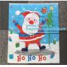 Large Santa Sacks Cotton Bags 100%Cotton Christmas Drawstring Bag,Christmas socks gift bag,Santa Sack For Decoration pac for sale