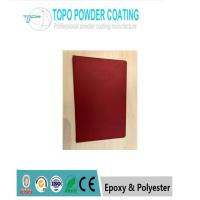 China Low glossy red color Electrostatic  epoxy polyester Powder Coating / Powder Coating RAL3011 for sale