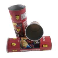 Wholesale Canning Fish Telescopic Food Grade Tube Packaging / Paper Cylinder Packaging from china suppliers