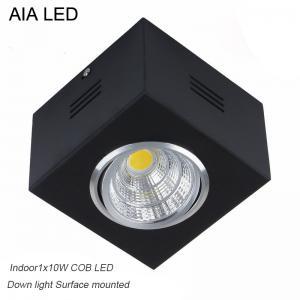 IP42 black indoor surface COB 10W Ceiling down light&LED Grille light