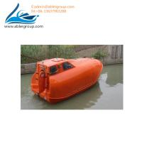 Buy cheap MED Certificate 21 People Free Fall Lifeboat and Rescue Boat 6 Persons For Sale from wholesalers