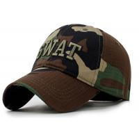 Wholesale Camping Camouflage Baseball Cap , Sports Unisex Snapback Hats Adults Size from china suppliers