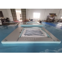 Wholesale Anti Jellyfish Yacht Inflatable Floating Ocean Pool With Net from china suppliers