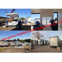 Buy cheap Modern Steel Frame Modular Prefab Container House For Site Office And Temporary from wholesalers