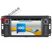 Wholesale 6.2 Inch Car Dvd Player GPS Navigation , Android Auto Head Unit For JEEP / Chrysler / Dodge from china suppliers