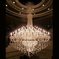 China Large contemporary crystal chandeliers For Hotel Project Lighting (WH-CY-123) on sale