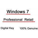 China Genuine Microsoft Windows 7 License Key Professional Full Retail Version 32 bit and 64 bit for sale