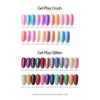 Wholesale Gel play glitter UV Gel Nail Polish MSDS GMPC 7.5ml / 5ml Bottle from china suppliers