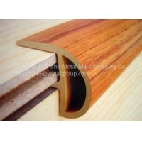 PVC R shaped flooring end border available for floor 8-15MM,color&size can be customized.