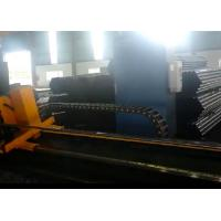 China Smooth cut servo motor control cold cut flying saw machine for 2 tube for sale