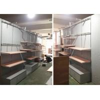 Wholesale Lady Retail Clothing Store Shelves With Wooden Stainless Steel Material from china suppliers