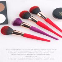 China Natural Goat Pony Hair Professional Makeup Brushes Light Weight Easy To Storing on sale