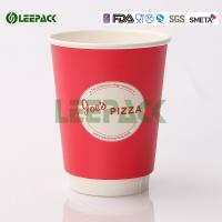 Popular 16oz disposable coffee cups , Hot Milktea Single Wall Paper Cups 500ml
