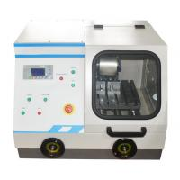 China Q-80Z Automatic / Manual Metallographic Cutting Machine with Water Cooling Speed 10mm/min for sale