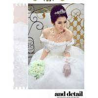 Buy cheap white cotton Ladies Wedding Dresses for yong girl from wholesalers
