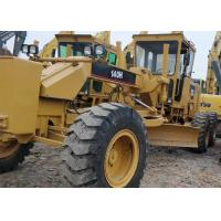 140h Used Motor Grader Operating Normally Yellow With 160 KW Net Power for sale