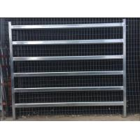 Wholesale Safety Animal Livestock Fence Panels , Horse Corral Panels 2.1mL*1.8mH Size from china suppliers