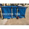 flexible 500L-2000Lcollapsible  folding  water tank fish farming tank  aquaculture tank for sale