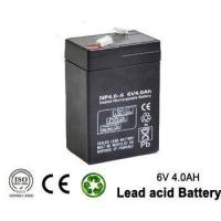 Wholesale 6v 4ah Rechargeable Emergency Light Lead acid battery for UPS , lighting from china suppliers