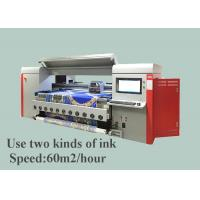 Best 1800mm Digital Cotton Fabric Printing Machine 4 pico litter ink drop size wholesale