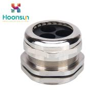 Wholesale Dustproof Waterproof Copper Cable Gland M12 - M63 With Silicone Multiple Entry from china suppliers