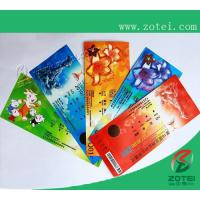 Wholesale RFID sport meeting ticket,200*80mm or customized size from china suppliers