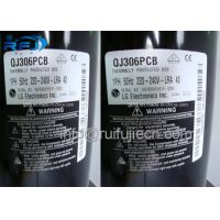 China 50Hz QJ306PCB  LG Rotary Compressor For Air Conditioner , Low Vibration & Noise on sale