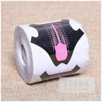 Wholesale Aluminum Foil Extension Nail Form 500 Roll For Acrylic Powder Application from china suppliers