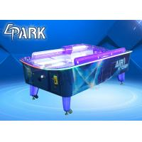 China Air Hockey Curved Table Table For Adult  Children Teenager coin pull  game machine for sale on sale