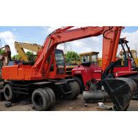 China 2010 Year  Used Wheel Excavator , Original Paint DOOSAN 140W Excavator Used on sale