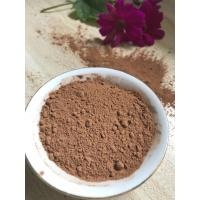Wholesale NF02 Dark Brown Natural Low Fat Cocoa Powder 4%-8% Fat Content , 5.0-5.8 PH Value from china suppliers
