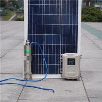 Wholesale Solar Powered Irrigation Submarine Deep Well Water Pump Submersible Off Grid MPPT Kits Bore from china suppliers