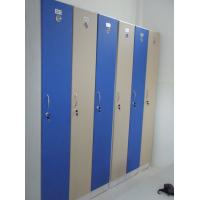 Wholesale Red / Yellow / Blue 4 Layer Changing Room Lockers Sturdy / Durable For Swimming from china suppliers