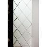 mosaic decorative bathroom mirror diamond block mirrors for sale