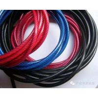 Zinc Plated Nylon Coated Wire Rope AISI Standard Steel For Mining Cableway for sale