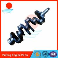 Wholesale KOBELCO excavator engine parts, 4BD1 crankshaft 5123101630 for SK100 SK120-3 from china suppliers