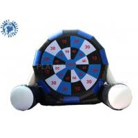 Wholesale Large Jumbo Inflatable Velcro Soccer Dart Board Sports Game For Outdoor from china suppliers