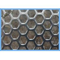 Wholesale Anodizing Hexagonal Perforated Aluminum Sheet / Screen 1.5mm Thickness from china suppliers