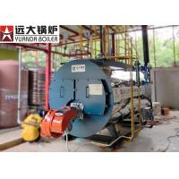 Wholesale 10 Ton Fire Tube Steam Boiler , Heavy Oil Fired Automatic Steam Boiler from china suppliers