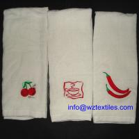 Wholesale Plain White Cotton Dish Towels For Promotion from china suppliers