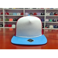 Wholesale ISO9001 Blue Bill Baseball 5 Panel Trucker Cap For Adults from china suppliers