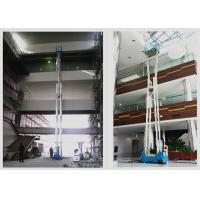 Wholesale 16m Multi Mast Mobile Elevating Work Platform Vertical Mast Lift For Single Man from china suppliers